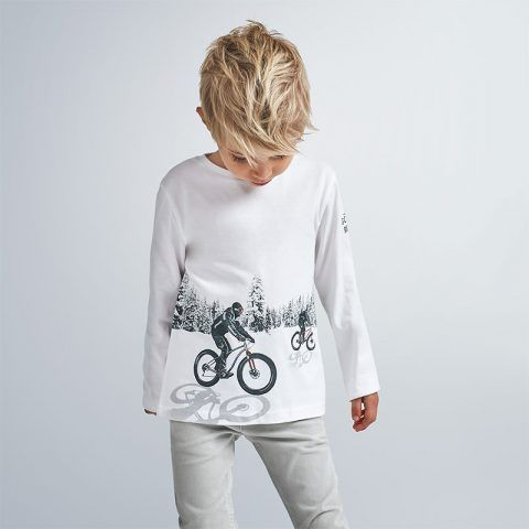 """Camiseta m/l reflectante """"play with"""" – MAYORAL"""